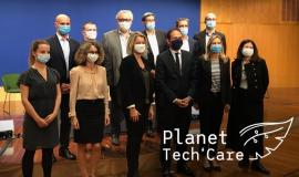 Lancement de Planet Tech'Care